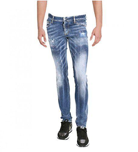 ac90c057a7006 Dsquared Men s S74la0729 S30342 470 Cool Guy Blue Denim Jeans   Men ...