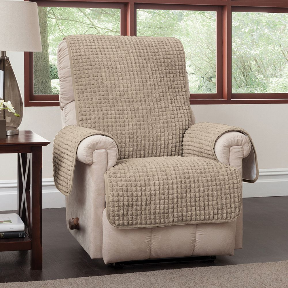 Puff Recliner Wing Chair Protector
