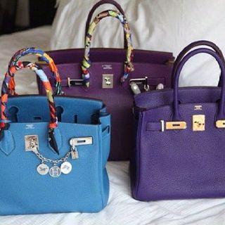 81dc6573998 Blue and Purple  hermes  birkin