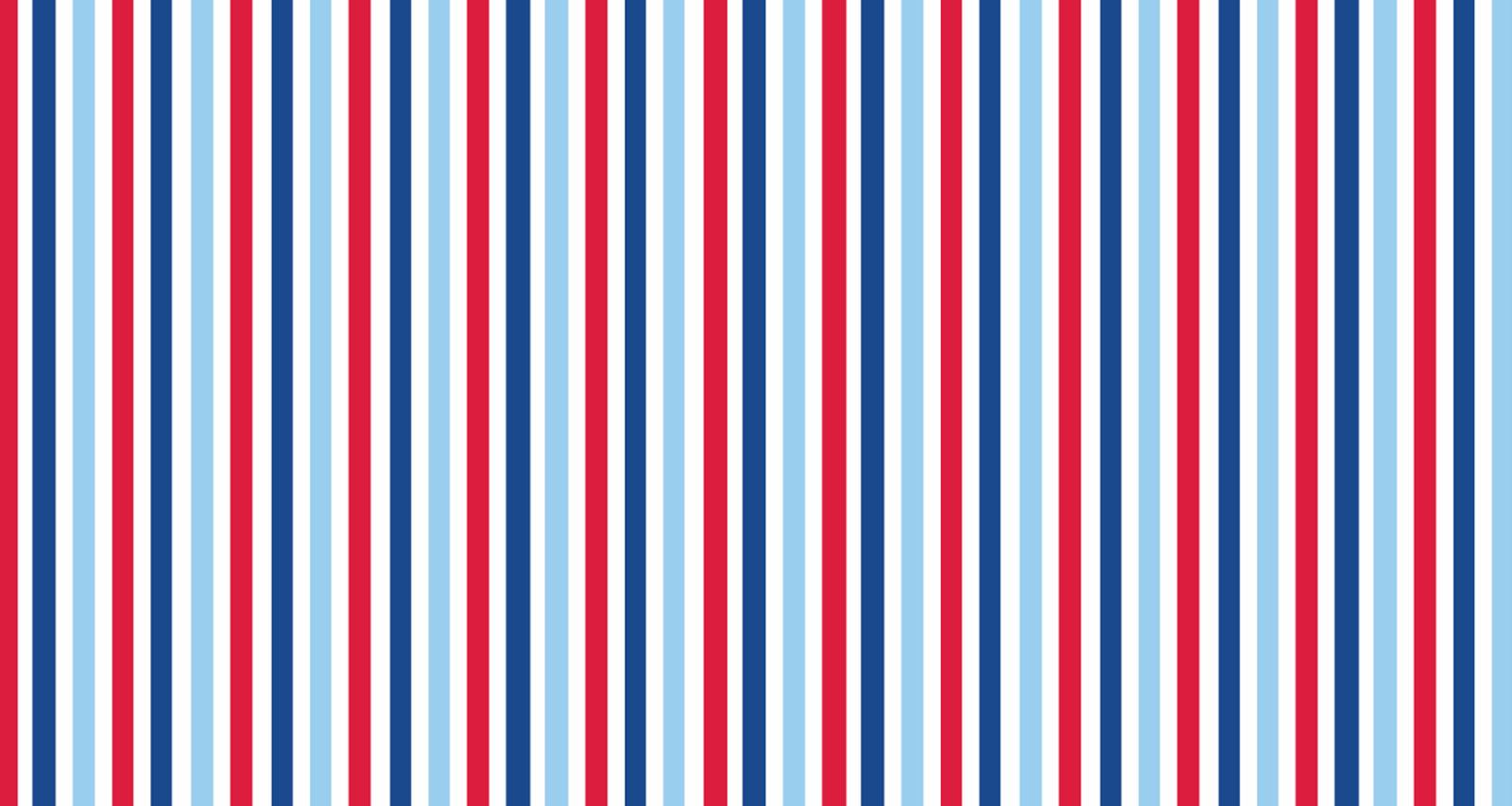 Kit Grátis Para Imprimir Azul, Branco E Vermelho, Kit