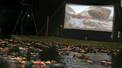 """sixpenceee: """"The best way to watch Jaws. """""""
