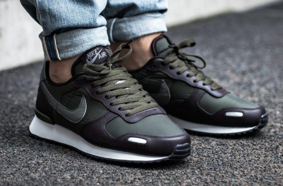 CARGO KHAKI & VELVET BROWN COMBINE ON THE NIKE AIR VORTEX