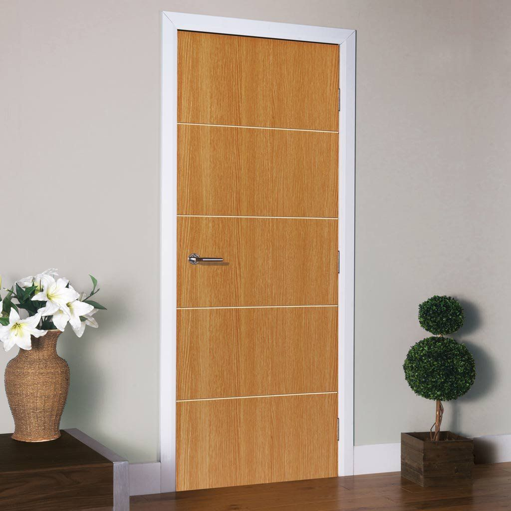 Fire doors & Tate Oak Colour Fire Door is Pre-Finished and 1/2 Hour Fire Rated ...