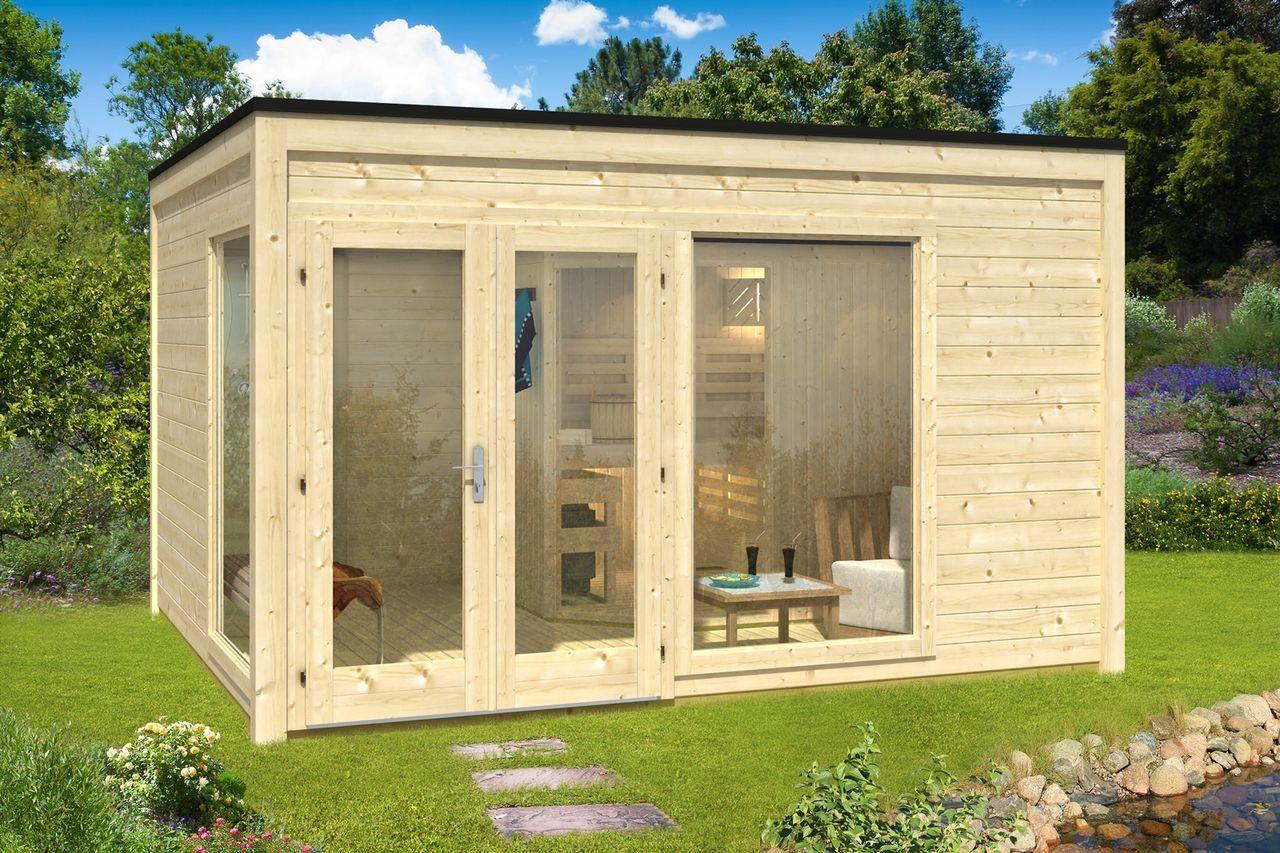 design saunahaus cubus 4035 design und saunas. Black Bedroom Furniture Sets. Home Design Ideas