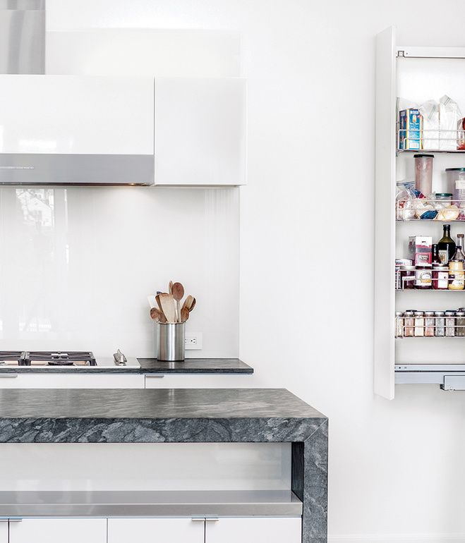 Painting High Gloss Kitchen Cabinets: Painters Accomplished The High-gloss Finish On The