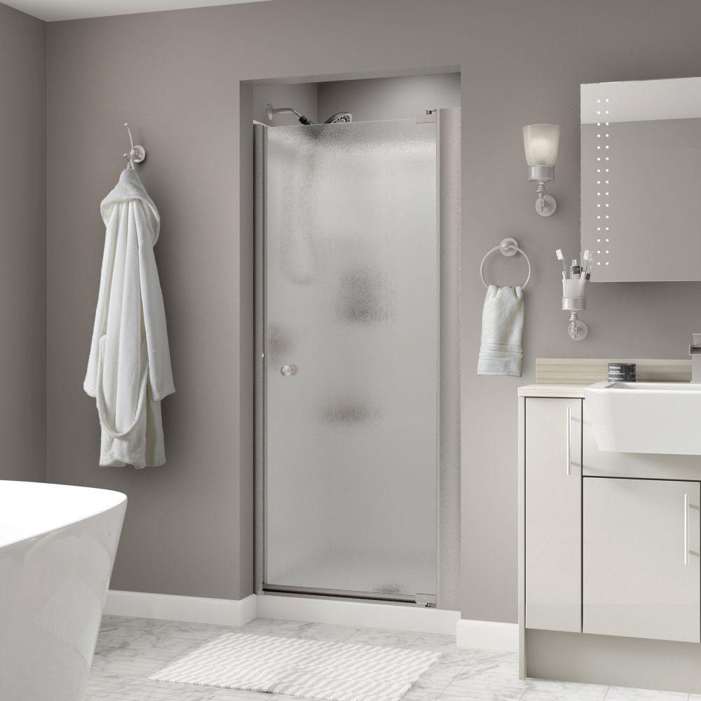 delta silverton 33 in x 64 3 4 in semi frameless contemporary