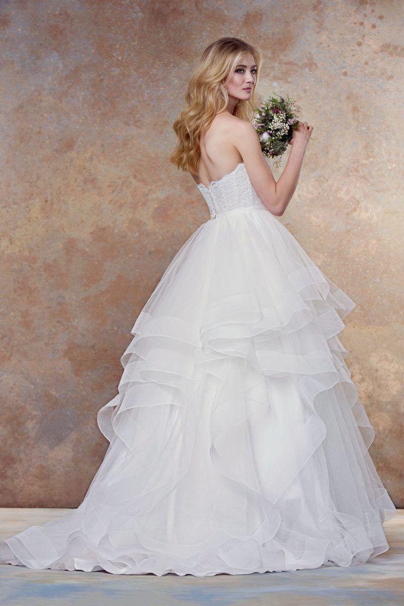 Casual wedding dresses for winter wedding  full separate skirt  style   Wedding Dress  Pinterest