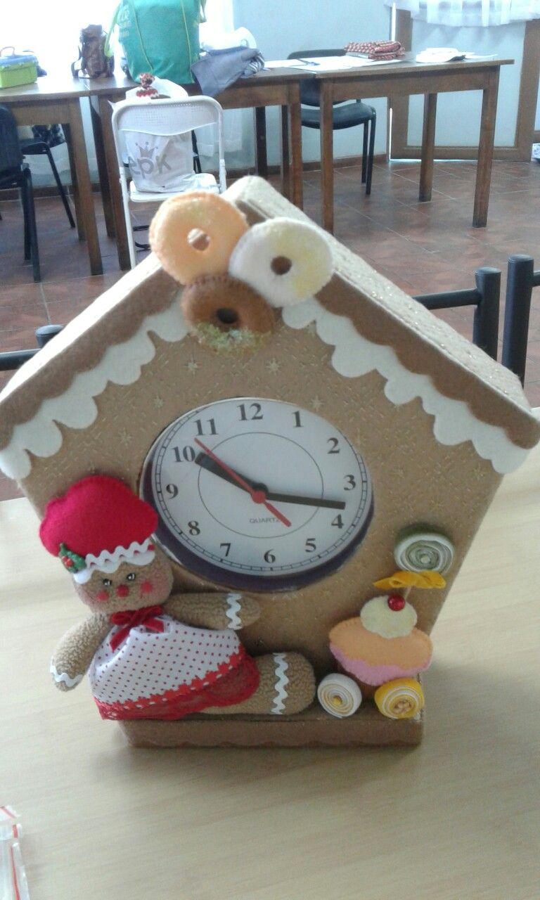 Reloj de galletas