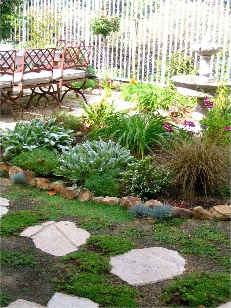 Backyard Landscape Ideas without Grass | Small backyard ...