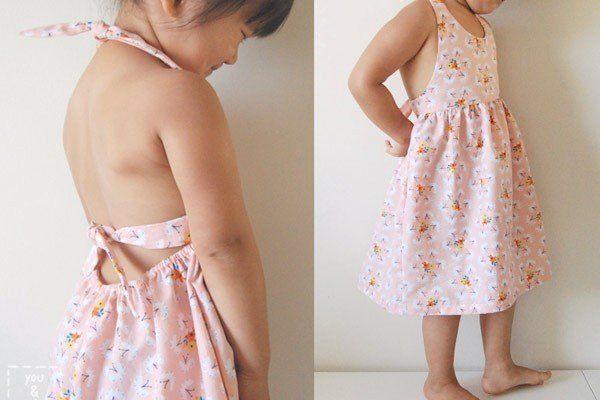 Cousez la robe d\'été pour votre petite fille
