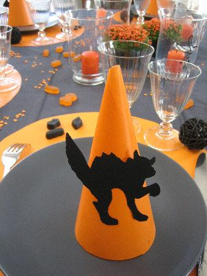 D coration halloween le petit monde de delphine d corations pinterest deco de table - Faire deco halloween ...