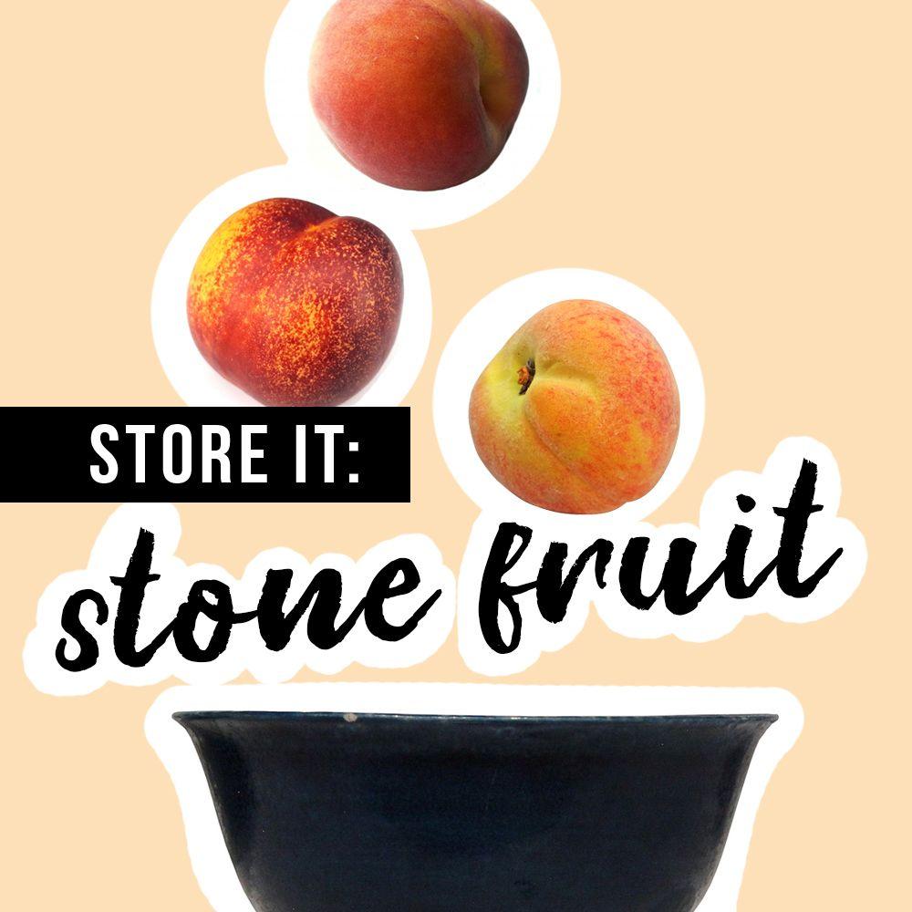 Stone Fruit Storage Fruit Storage Stone Fruit Fruit