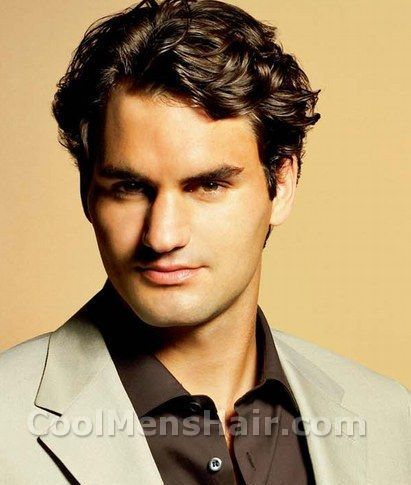Roger Federer Hairstyle Photos Cool Men S Hair Roger Federer Mens Hairstyles Hair Photo