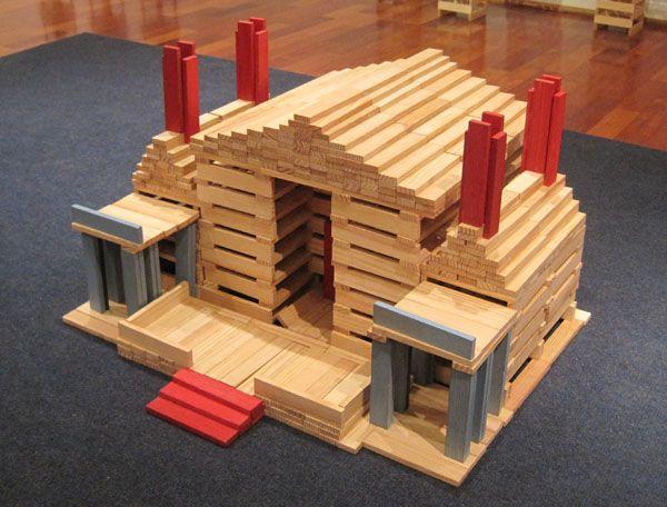 Kapla house kapla blocks kapla pinterest kapla for Architecture kapla