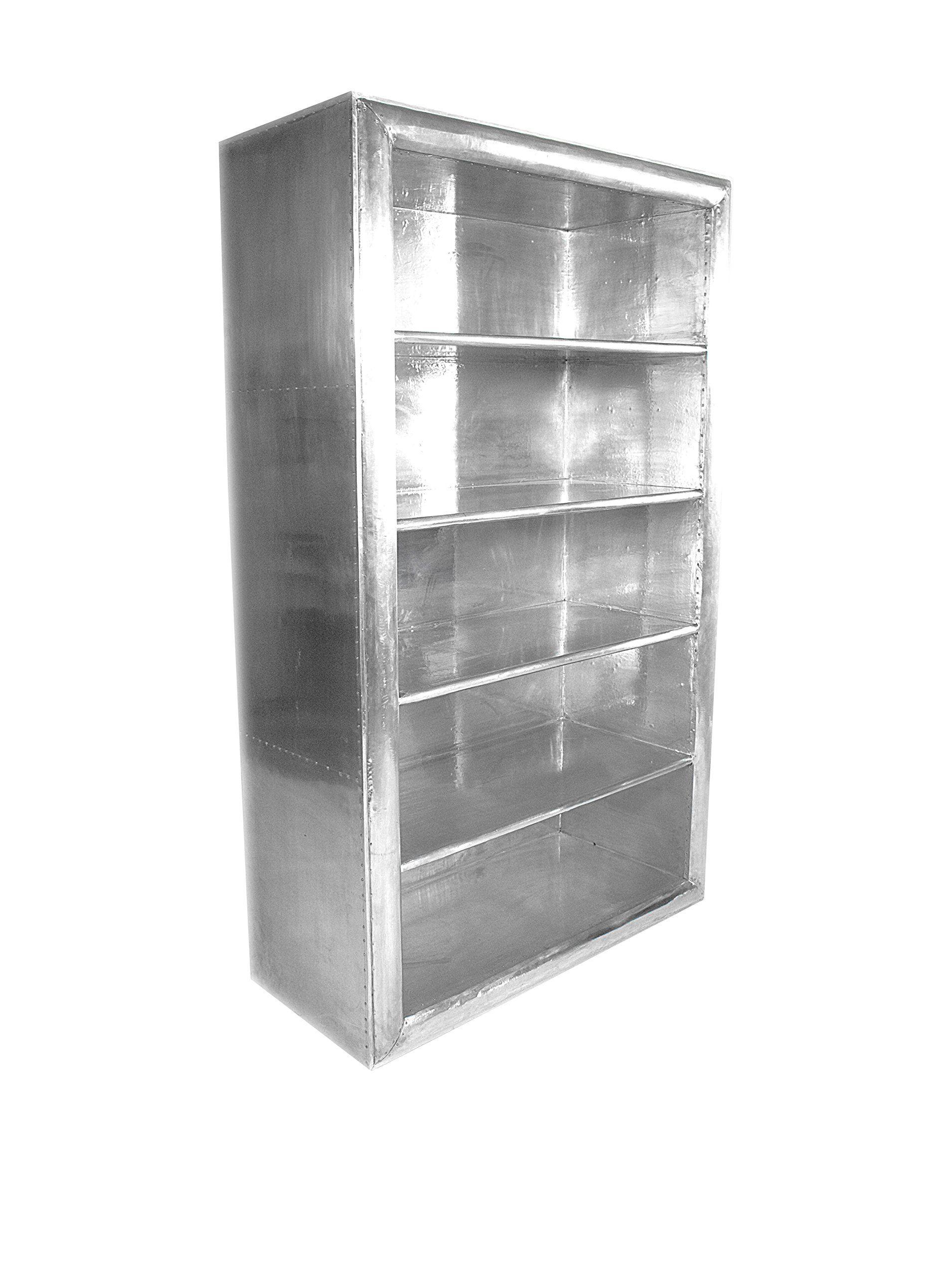Cdi Furniture Aero Design Bookcase Silver At Myhabit Home Furniture Furniture Bookcase