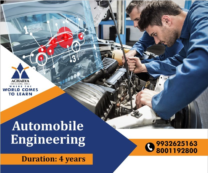 Automobile Engineering Admission Open For New Session 2020 Top Engineering College In 2020 Top Engineering Colleges Engineering Colleges Automobile Engineering