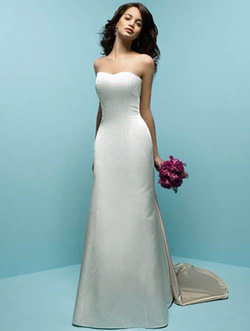 Simple White Wedding Dress | Gommap Blog