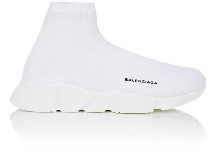 balenciaga speed knit mens gold