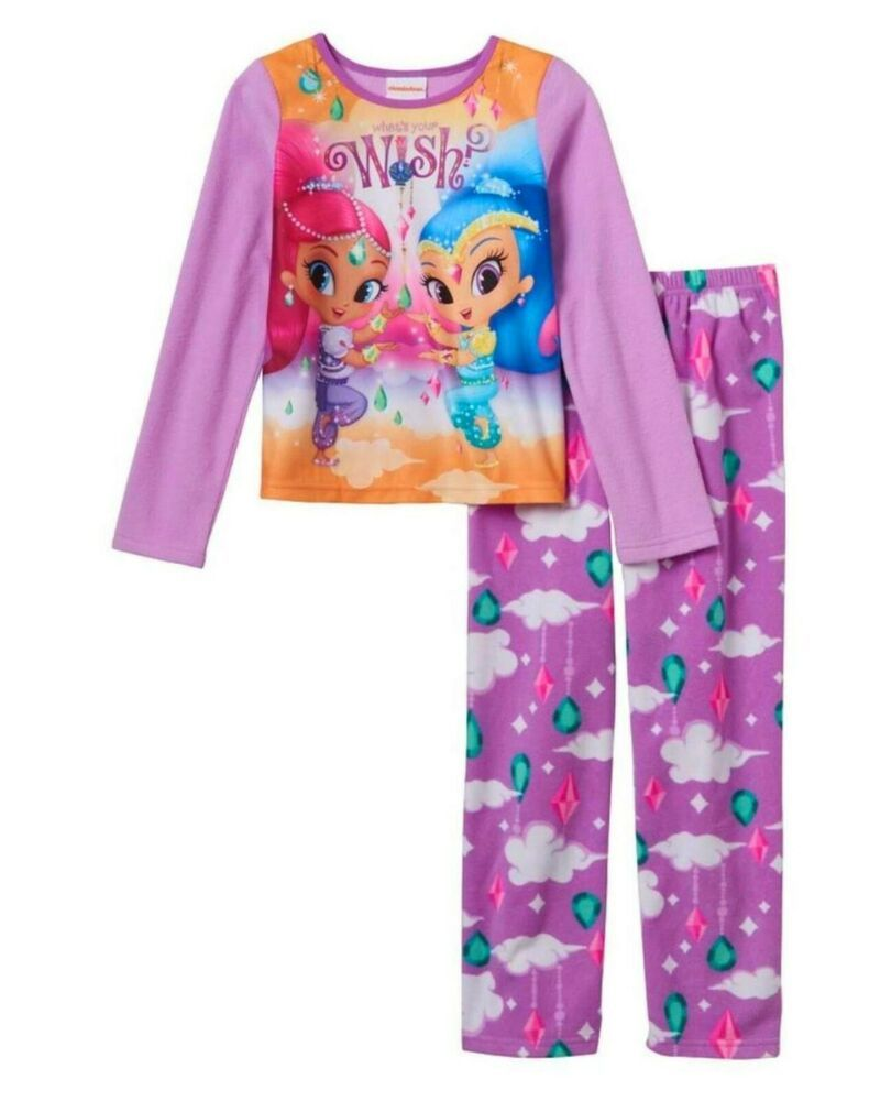 NWT Toddler Girls/' Shimmer and Shine Everyday Sparkling Short Sleeve T-Shirt