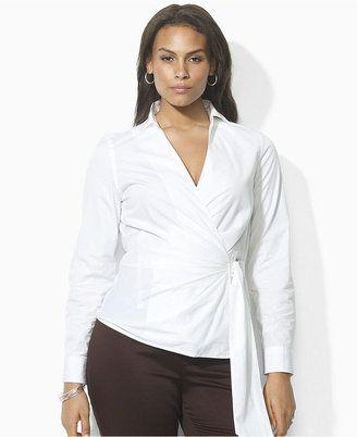 b5245795ab3 Lauren by Ralph Lauren Plus Size Shirt