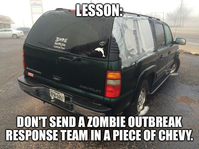 Create And Share Awesome Images Zombie Outbreak Response Team Meme Maker Funny Images