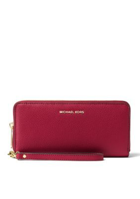 4add480beb4a MICHAEL Michael Kors Cherry Kors Studio Collection Mercer Travel  Continental Wristlet