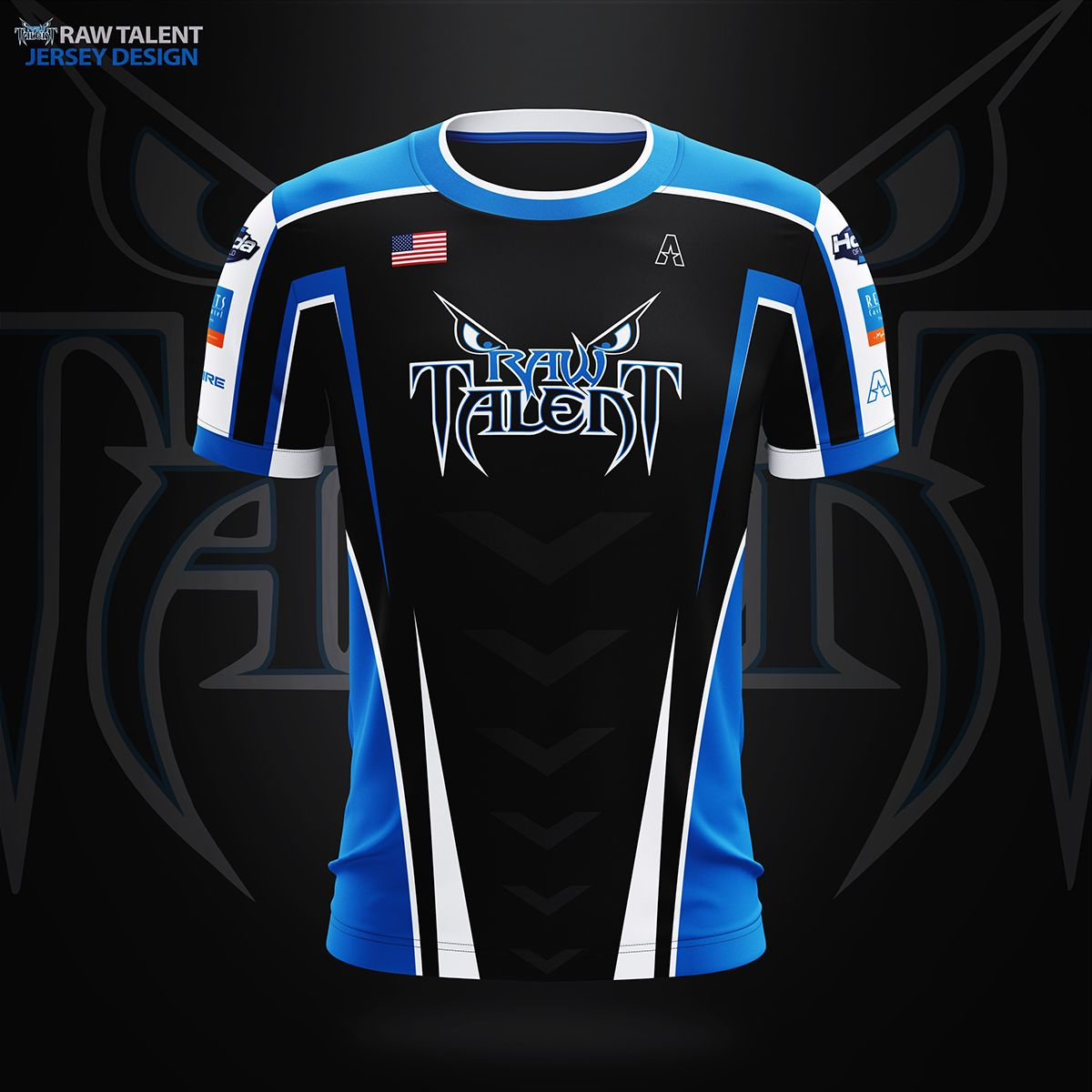 Akquire Clothing Co Esports Team Jersey Designs On Behance Jersey Design Sports Jersey Design Rugby Jersey Design