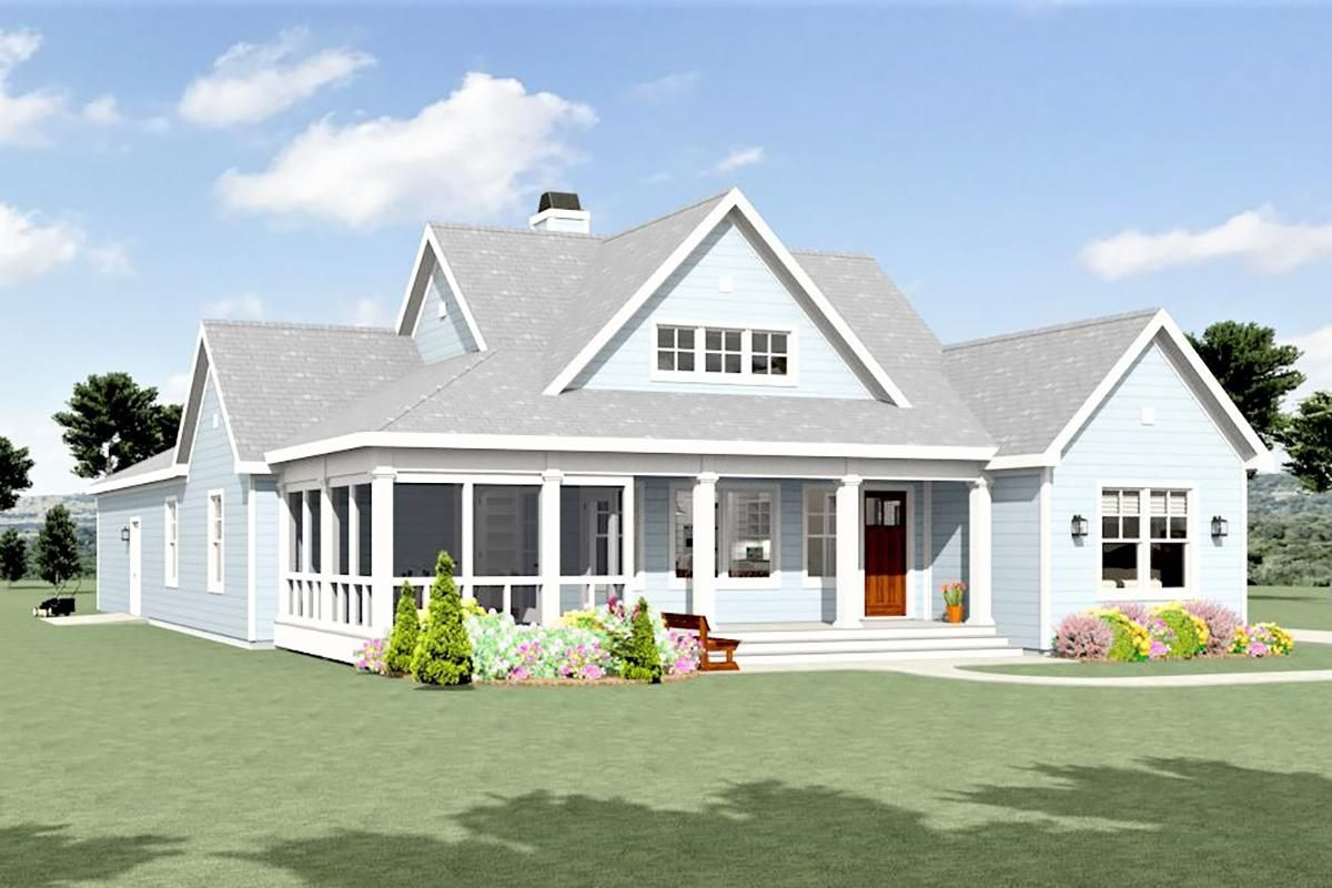 House Plan 3125 00026 Country Plan 1 809 Square Feet 3 Bedrooms 2 5 Bathrooms Farm Style House Farmhouse Style House Plans Modern Farmhouse Plans