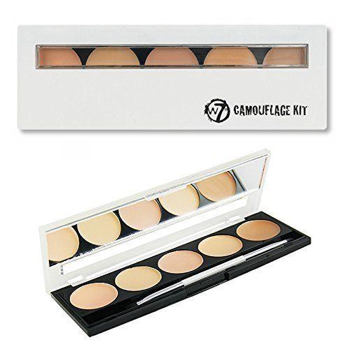 W7 Camouflage Kit Cream Concealer Palette *** Review more details here : Best Concealer