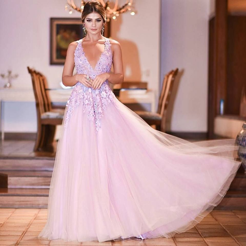 vestido de festa Thássia Naves