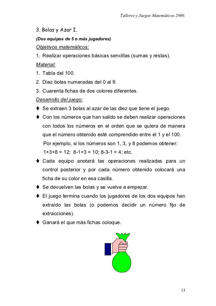Juegos Matematicos Para Primaria Y Secundaria Matematicas Pinterest
