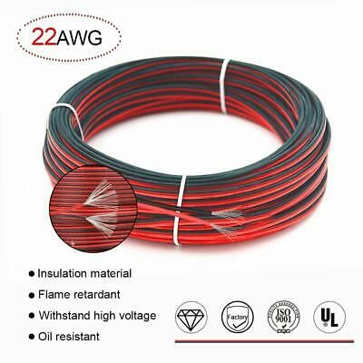 Ad Ebay 22 Awg Red Black Hookup Wire 66ft Stranded Wire Flexible Pvc Electrical Wire 2 Black And Red Electrical Wiring Wire