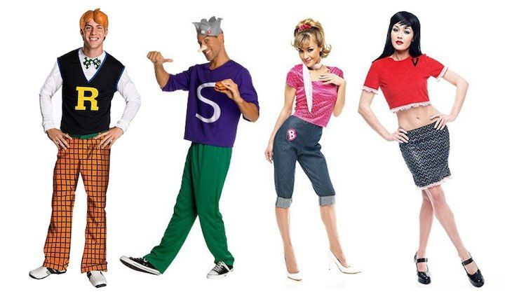 awesome group halloween costumes for you and your crew archie