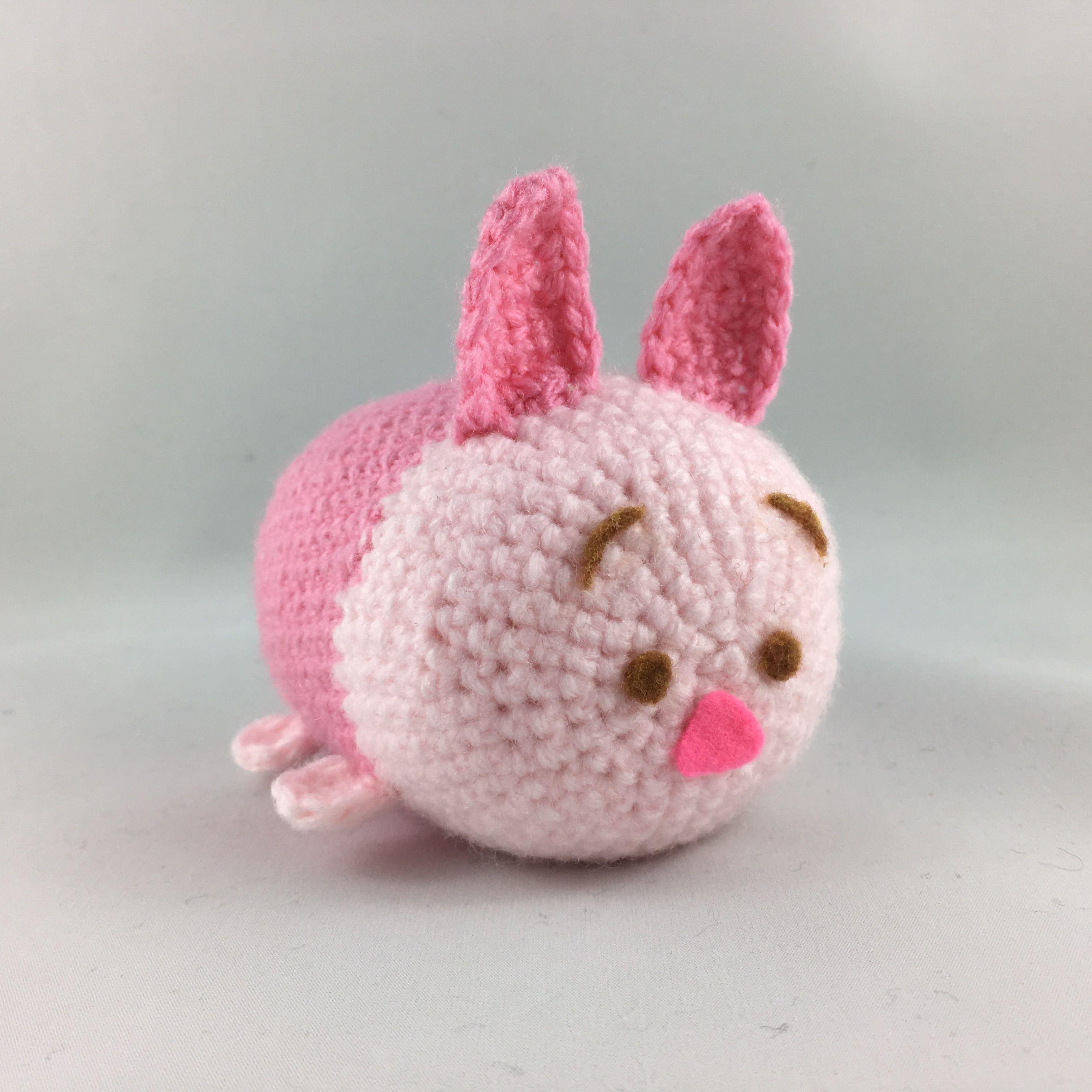 Amigurumi Piglet Tsum Tsum #amigurumi #tsumtsum #crochet #disney ...
