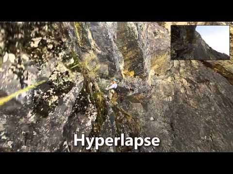 Microsoft convierte vídeos en primera persona con mala estabilización en increíbles hyperlapses