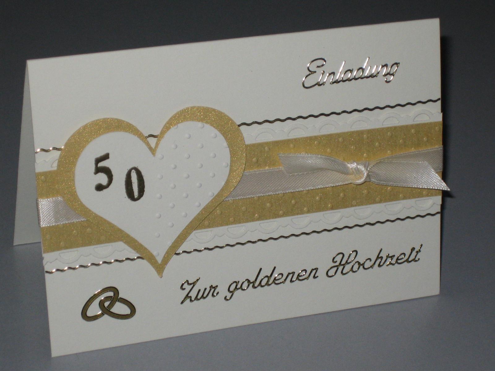 Einladungskarten Goldene Hochzeit Vorlagen Place Card