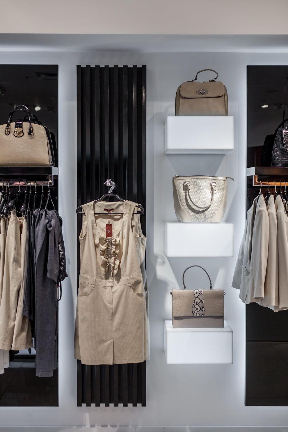 92032b0cd9c4 Архитектурная студия Чадо chadopro.arxip.com Интерьер магазина женской  одежды Перед дизайнером стояла сложная