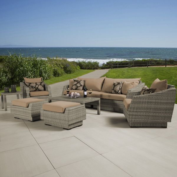 Found it at Joss & Main - 8-Piece Catalina Patio Seating Group