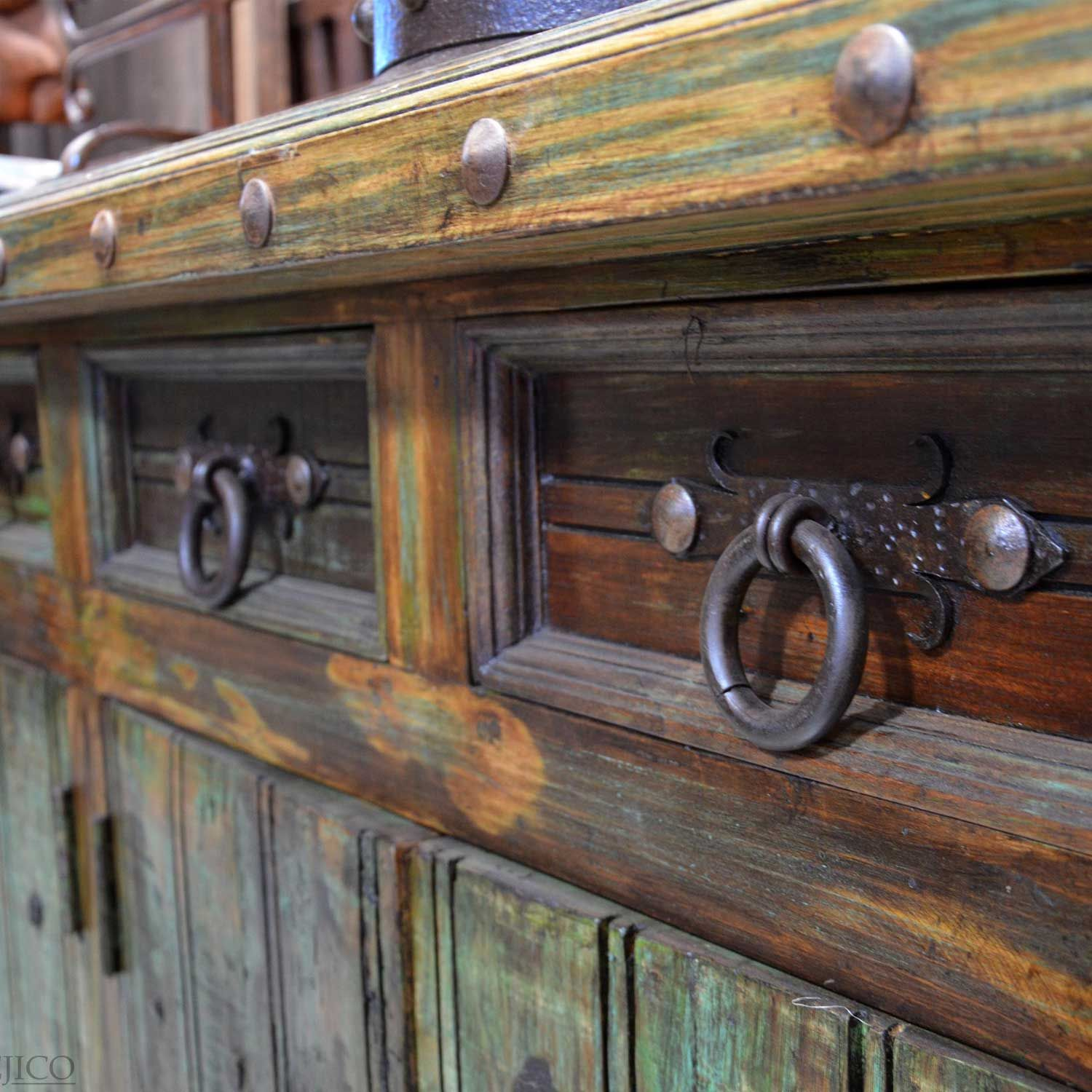 Rustic Cabinet Hardware, Bail Pulls, Iron Cabinet Pull ...