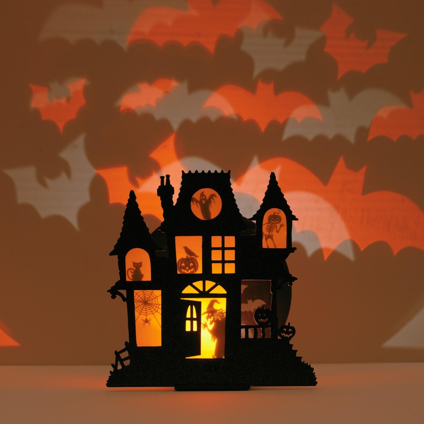 haunted house shadowcaster halloween gift hallmark - Hallmark Halloween Decorations