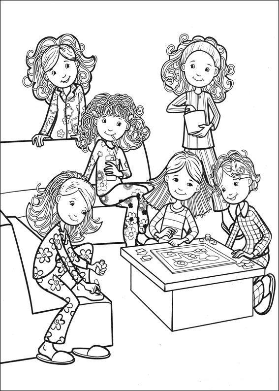 Groovy Girls 50 Ausmalbilder für Kinder Malvorlagen zum
