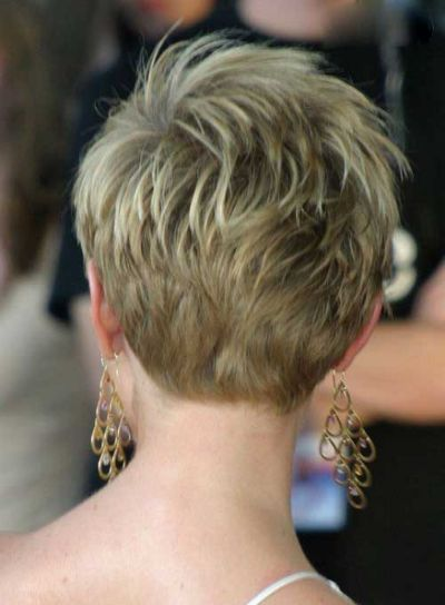 20 Back of Pixie Haircuts The Coiffures cheveux courts