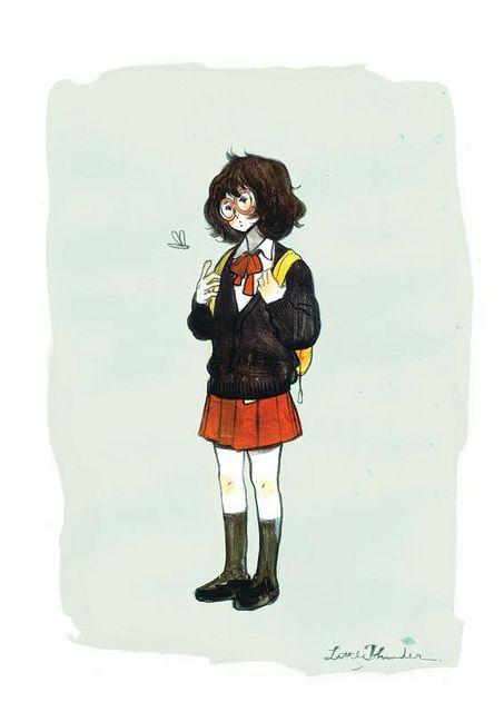 Personagem de Kylooe, volume 1, de LittleThunder.