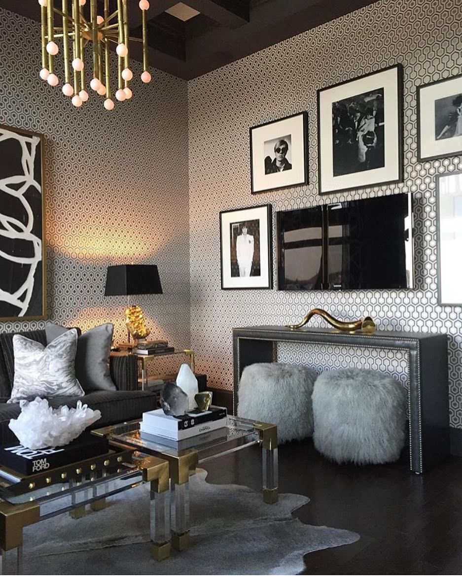 Check out the best in living room furniture with articles like how to tighten the arm on a reclining sofa, how to repair leaning recliners, & more! Pin by Andrea Neasby Porter on | INTERIORS | | Glam living ...