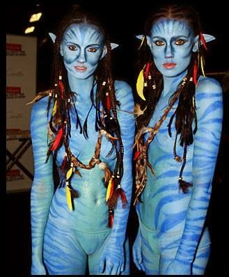 Body Paint Halloween Costumes
