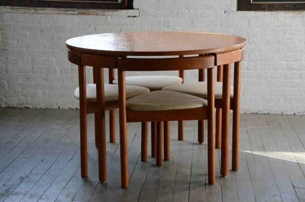image 1 Danish dining table, Furniture, Mid century