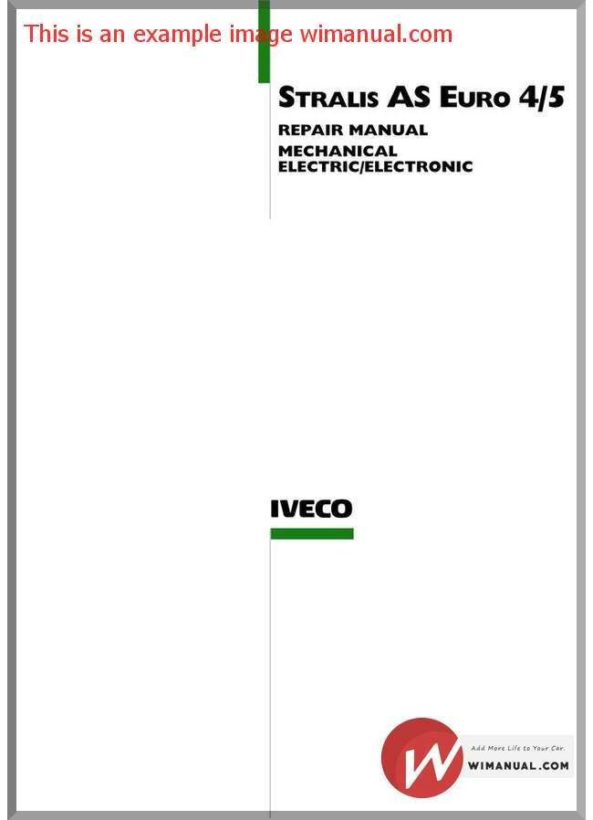 iveco stralis as euro 4 5 repair manual pdf download this manual iveco engine dealers iveco stralis as euro 4 5 repair manual pdf download this manual has detailed illustrations as well as step by step written instructions with the necessary