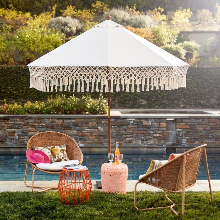 It S Official We Re Moving Into The Backyard After Seeing World Market S Outdoor Furniture Popsugar World Market Outdoor Furniture Outdoor Umbrella Patio What is a market umbrella
