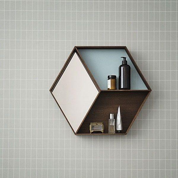 Open #kast en #spiegel in één.