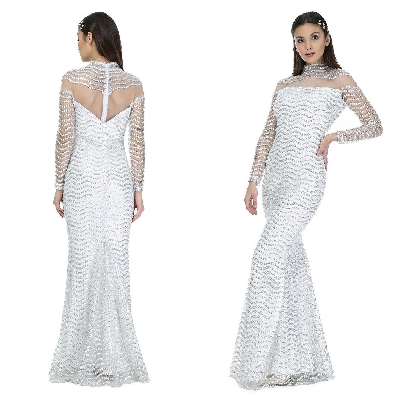 فستان سهرة أبيض موديل سمكة مفص ل بترتر رابط المتجر في البايو تنورة تنورة طويلة تنورة جامعه فستان فستان سهره Dresses Sheath Wedding Dress Formal Dresses